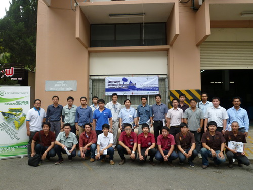 Synergysoft Education Center : Inventor 2014 Training At RMUTL Chiangmai
