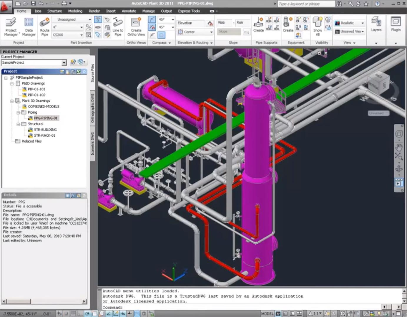 Synergysoft : ซินเนอร์จี้ซอฟต์ - AutoCAD Plant 3D