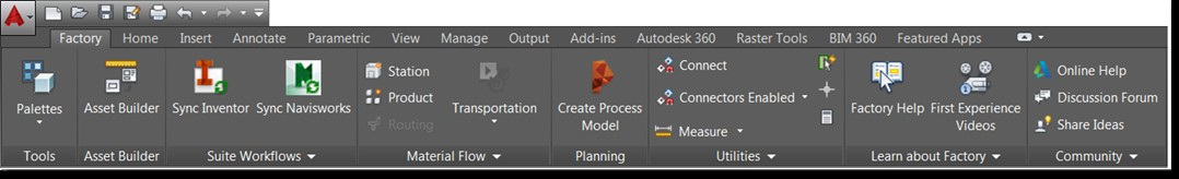 Synergysoft Autodesk Factory Design Utilities
