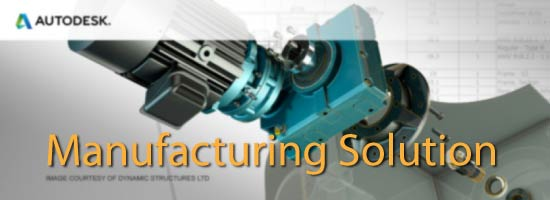 Autodesk Manufacturing solution